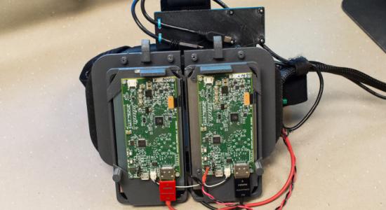 Prototype des VR-Headsets von Value
