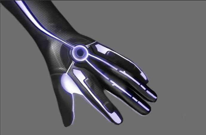 Virtual Reality Glove Handschuh Tron