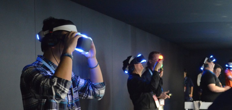 ps4, project morpheus, VR headset, sony, virtual reality