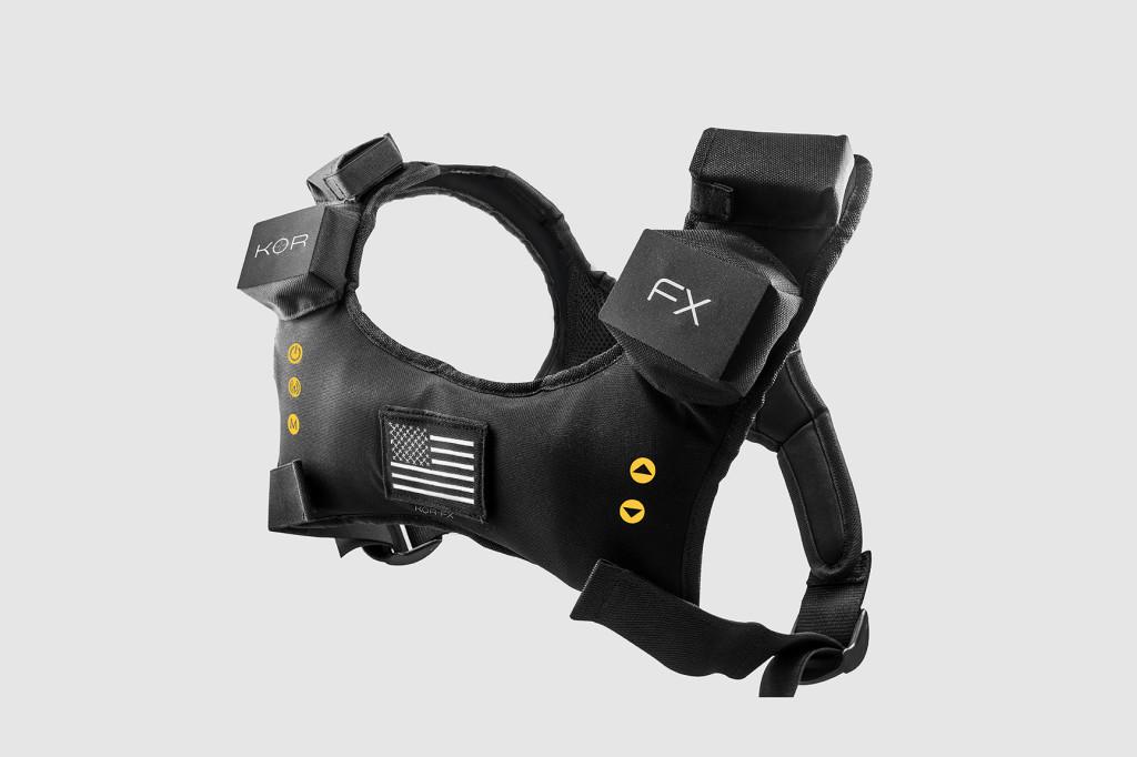 KOR-FX, Haptische Weste, VR, VRNerds