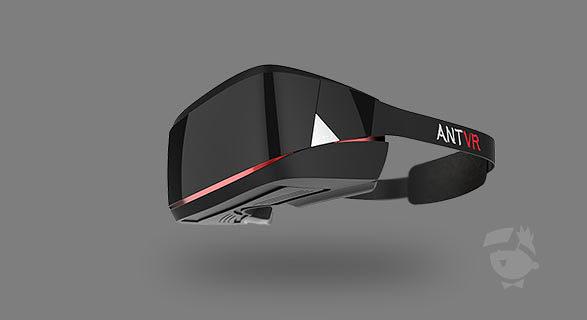 AntVR, Oculus Rift, Head Mounted Display, VR-Brille