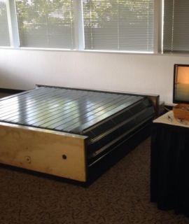 infinadeck, omindirectional treadmill, laufband, virtual reality, vr