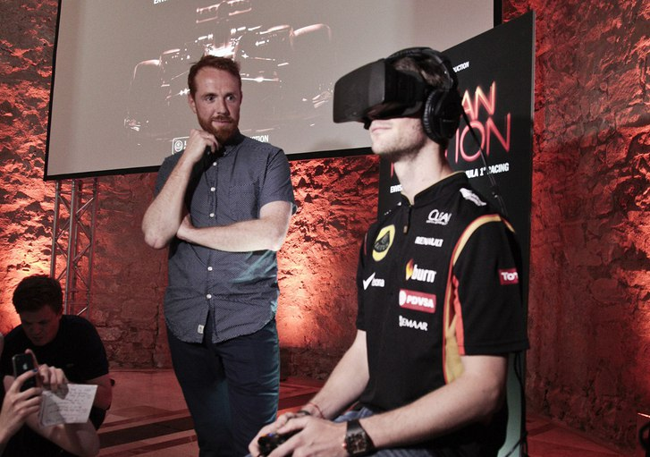 oculus rift, formel 1, virtual reality, augmented reality