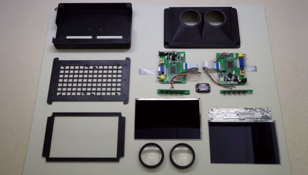 cascaded display, nvidia, virtual reality, hardware, research
