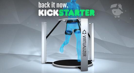 virtualizer auf kickstarter backen