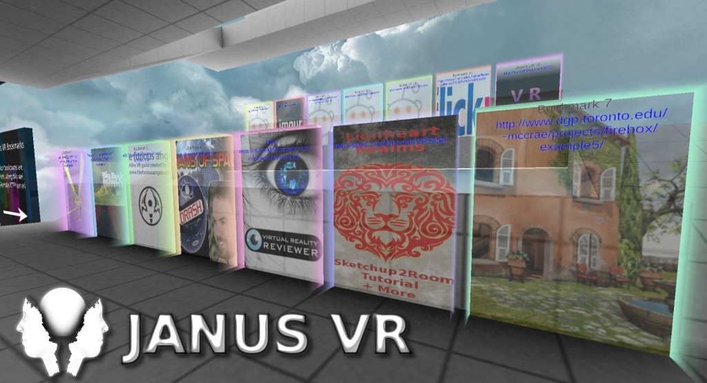 Janus VR, Browser, Oculus Rift, Virtual Reality
