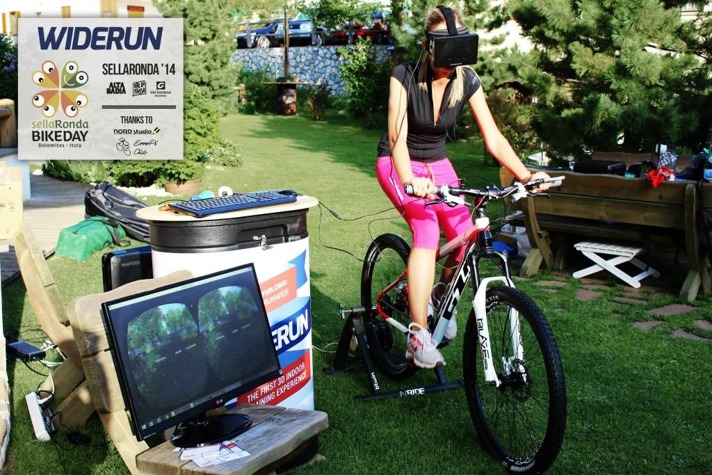 widerun, fitness, oculus, fahrrad, Widerun - Sport in fremden Welten