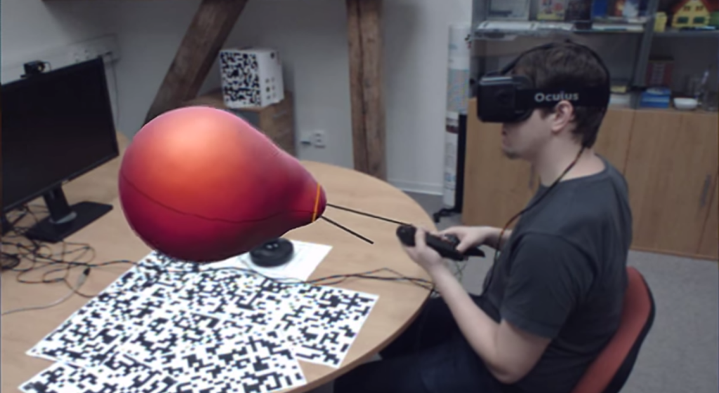 VR-Clay moddling in Virtual Reality, Coding
