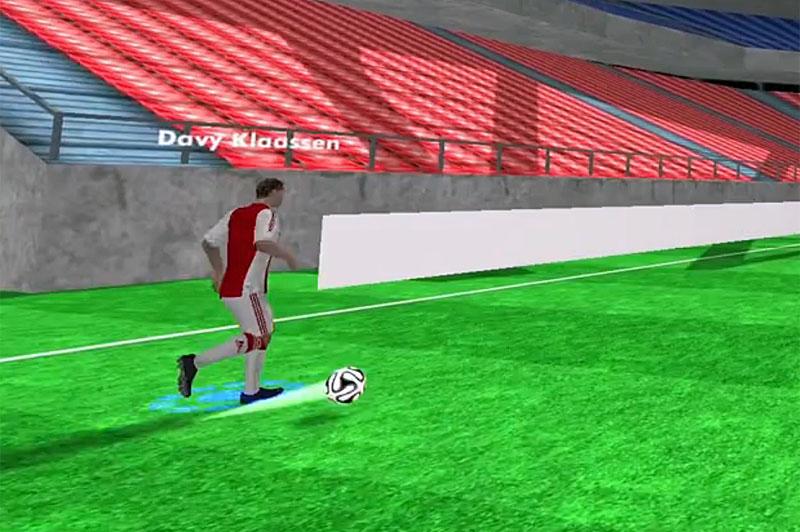 ajax, beyond sports, oculus rift, fußball