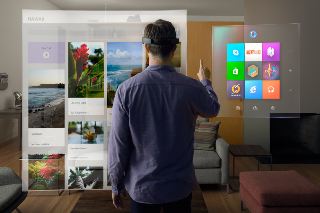 Augmented Reality, microsoft hololens, virtual reality