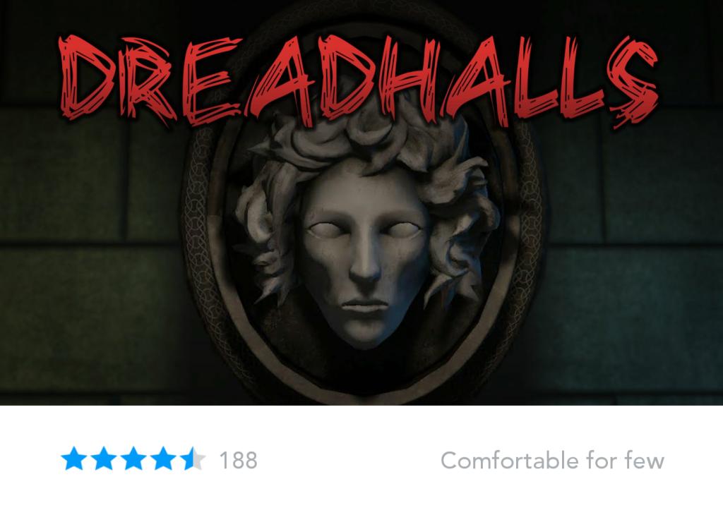 Oculus Store Comfort rating