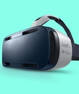 Samsung Gear VR, Virtual Reality Headset, Brille