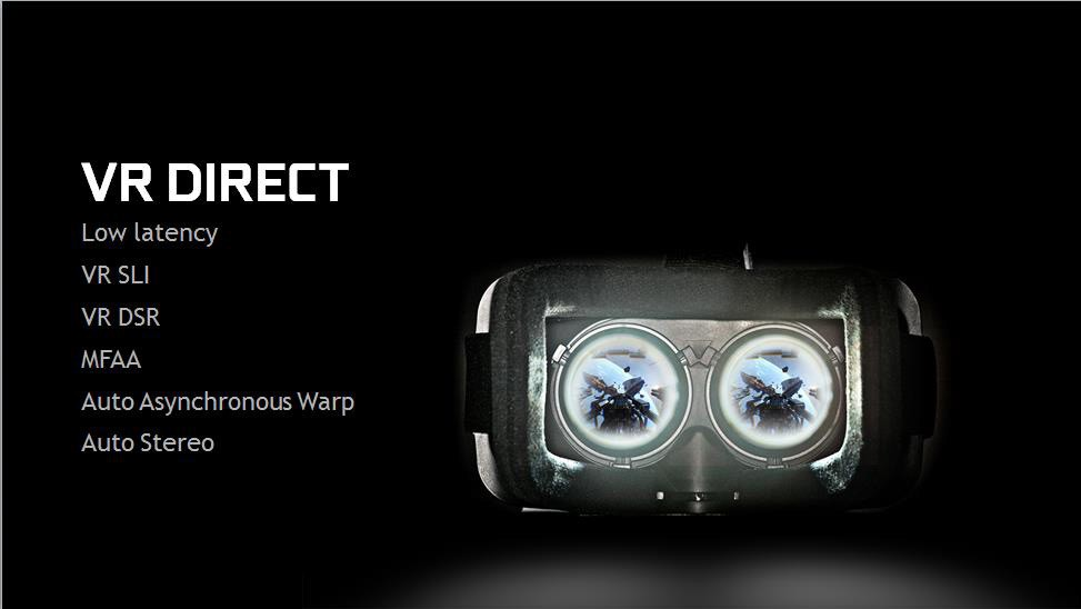 nvidia, vr direct, oculus rift, vr features, titan vr