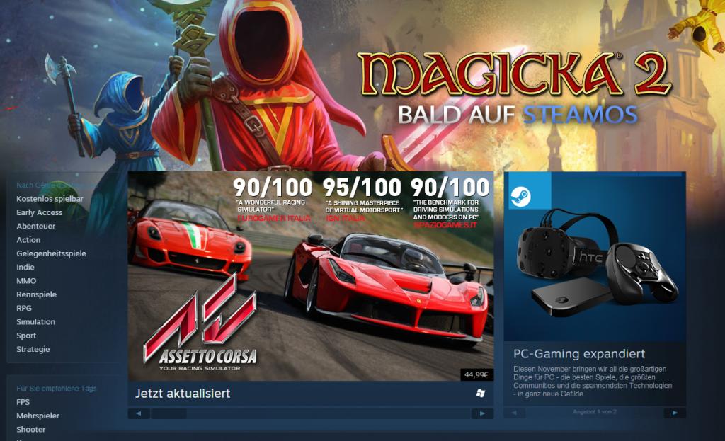 Valve Steam Screenshot Re Vive