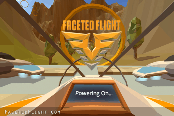 Spielaufnahme von Faceted Flight