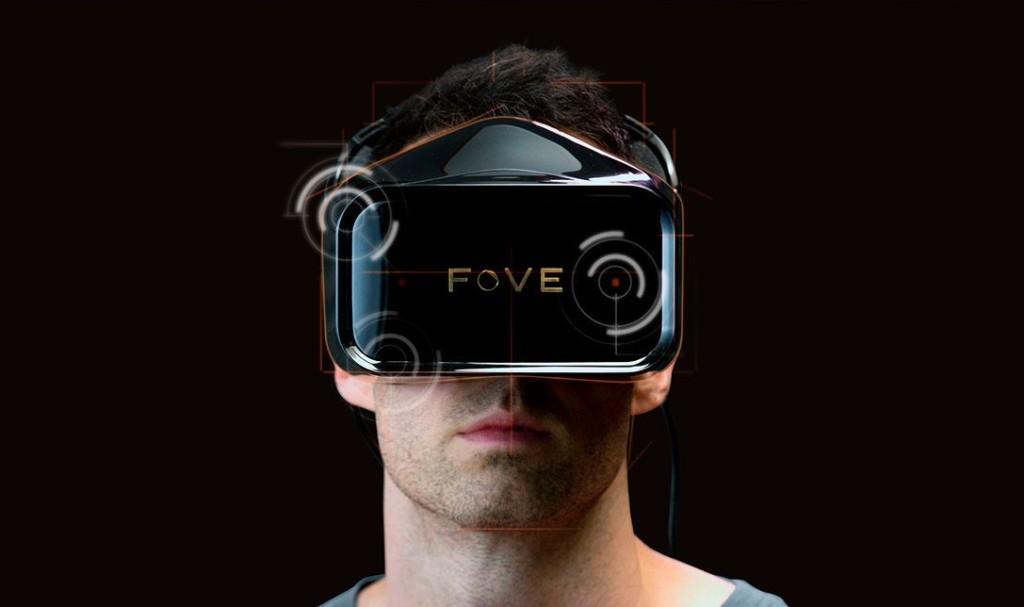 Fove VR Headset mit Eyetracking