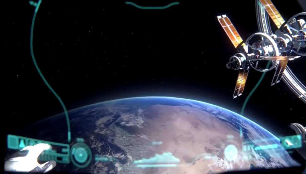 Weltraum Spiel ADR1FT für Virtuelle Realität