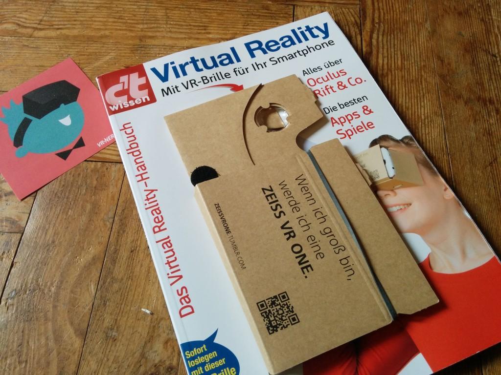 Virtual Reality YPS-Heft