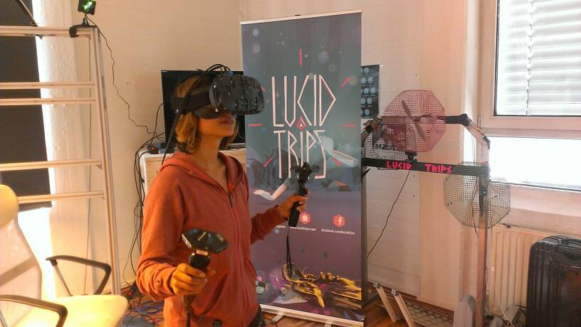 Lucid Trips HTC Vive