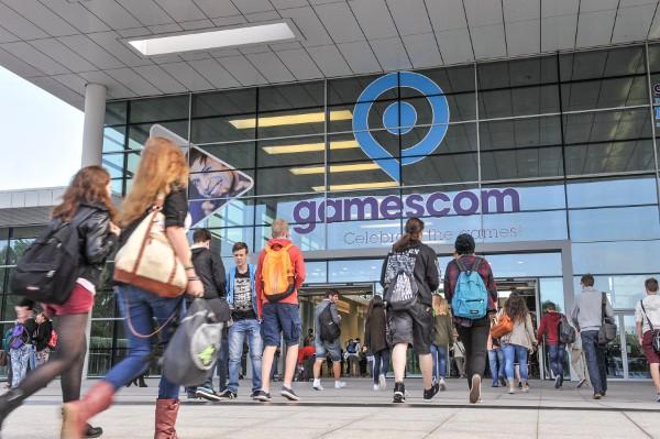 Eingang Süd der gamescom