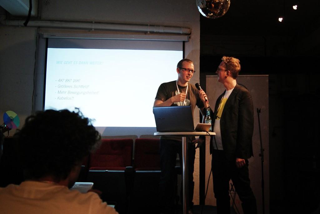 LVL UP Bild von Chris und Uke Bosse auf der Bühne