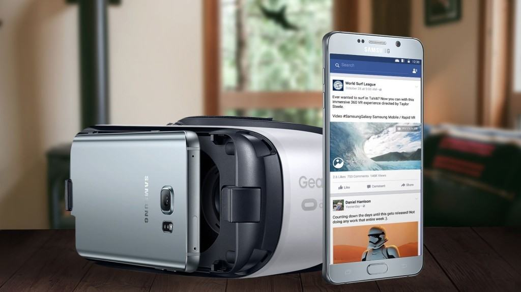 Facebook 360-Grad Videos mit Gear VR