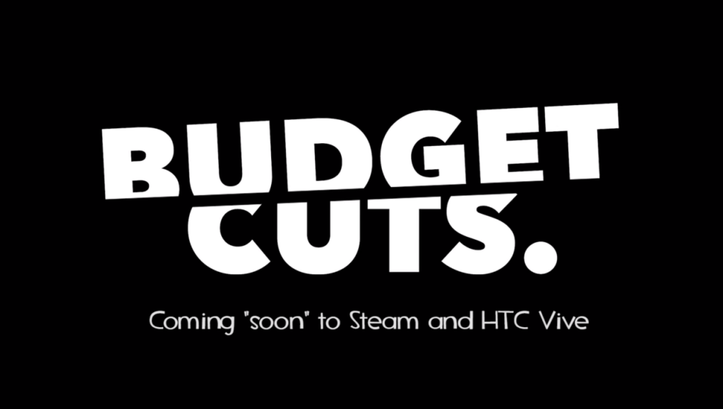 Budget Cuts Titelbild aus dem Youtube Trailer