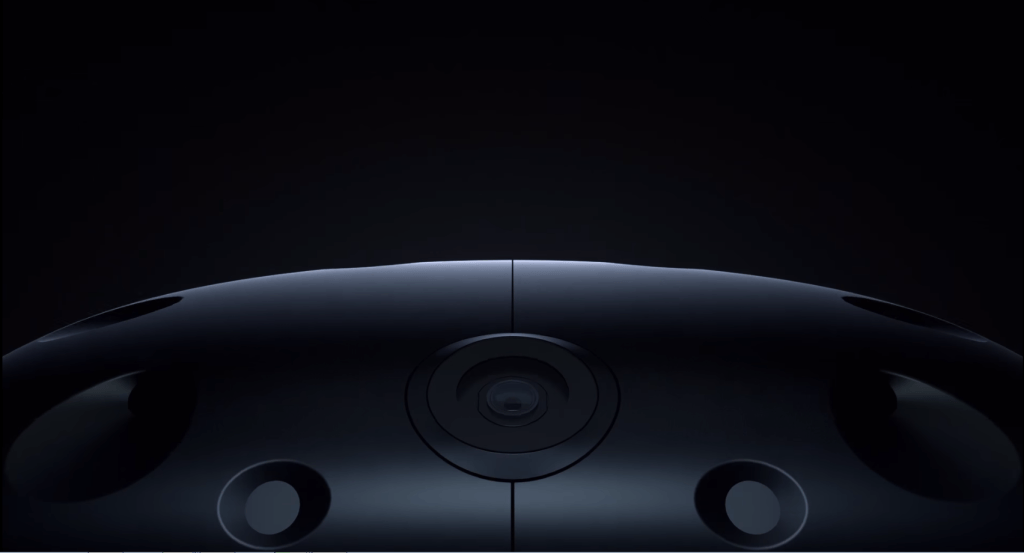 Kamera des HTC Vive Pre Headsets / neues Kamera Feature der HTC Vive
