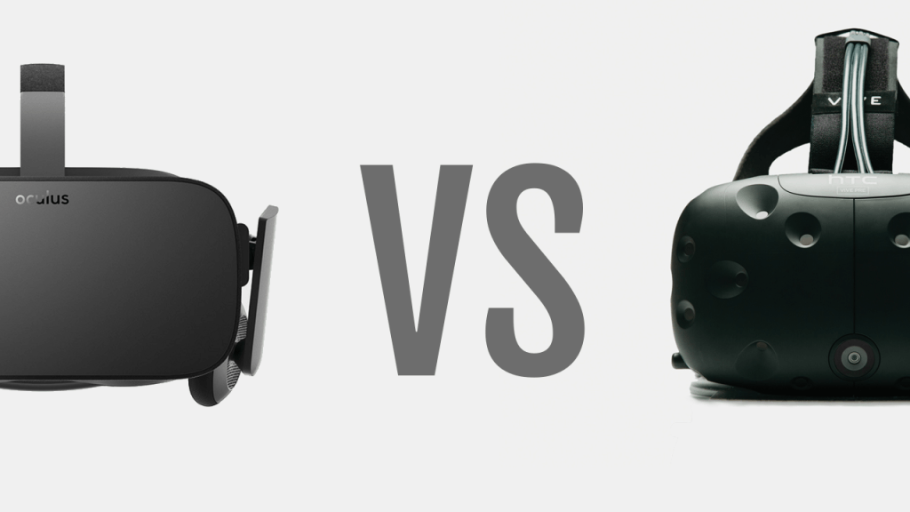 HTC Vive oder Oculus Rift
