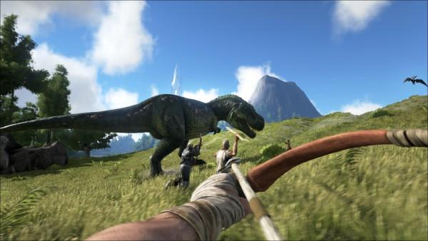 Überleben auf einer Dinosaurier Insel mit AKR: Survival Evolved