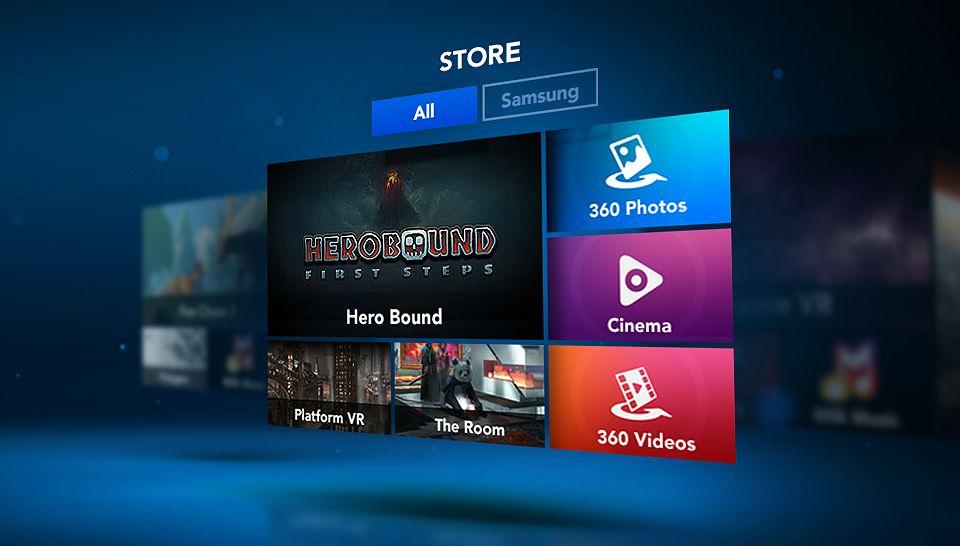 Oculus Store, Oculus Home, Gear VR