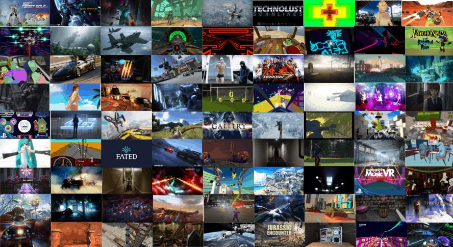 Alle PlayStation VR Spiele