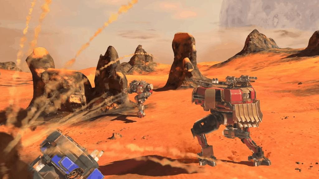 Vox Machinae Multiplayer Trailer Screenshot