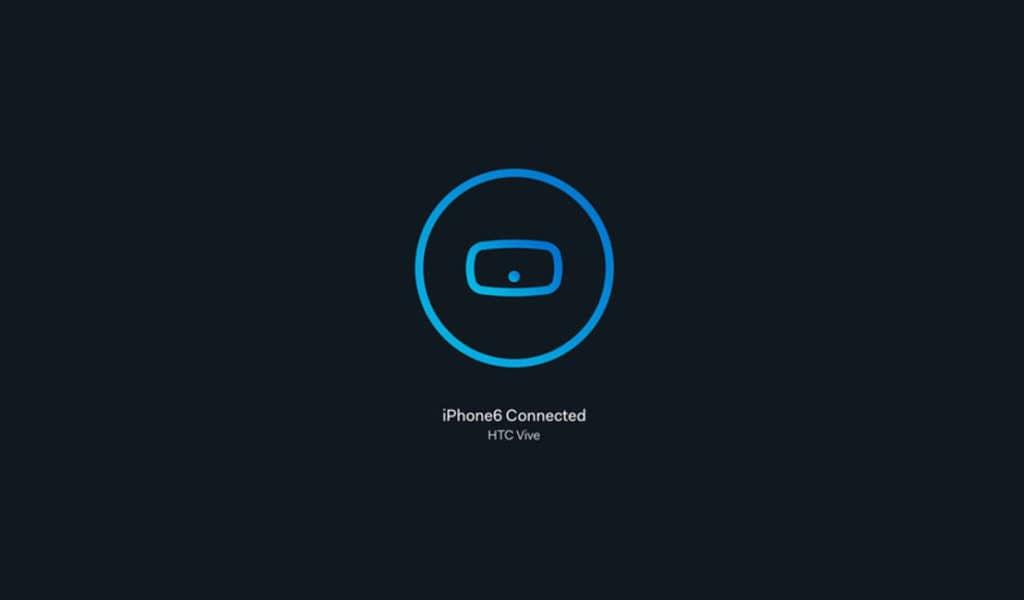 HTC Vive App für iOS