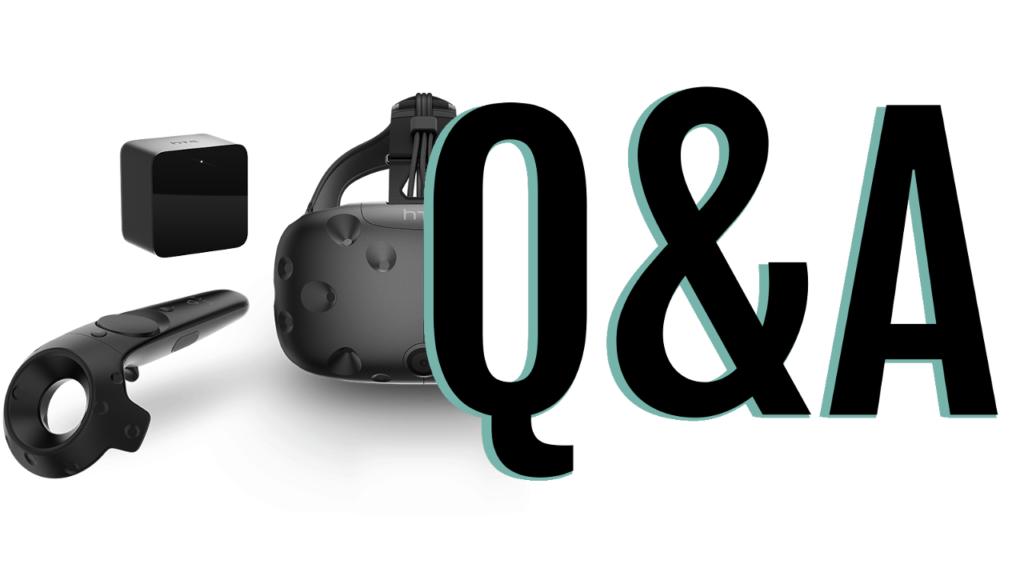 HTC Vive Fragen und Antworten