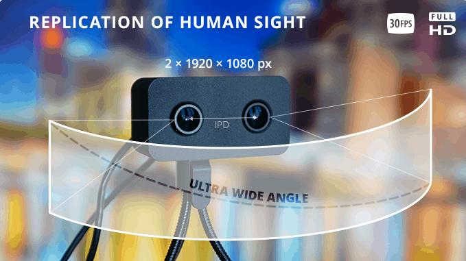 WebEye VR Webcam Titelbild