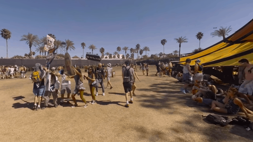 Erster 360 Grad Livestream auf Youtube