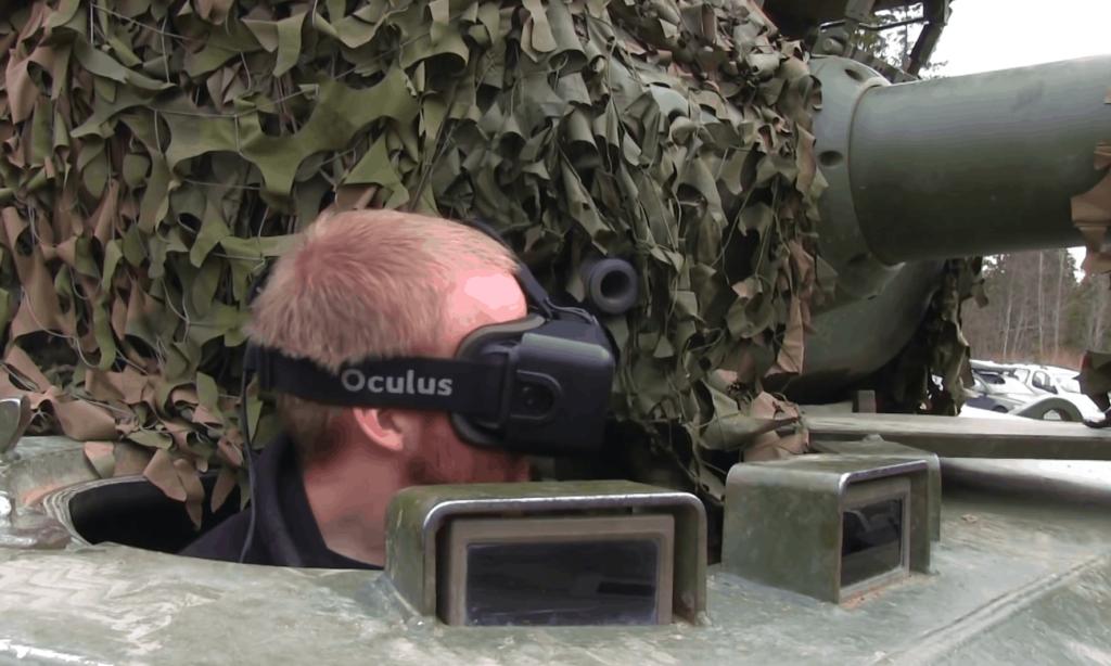 Panzer mit der Oculus Rift steuern