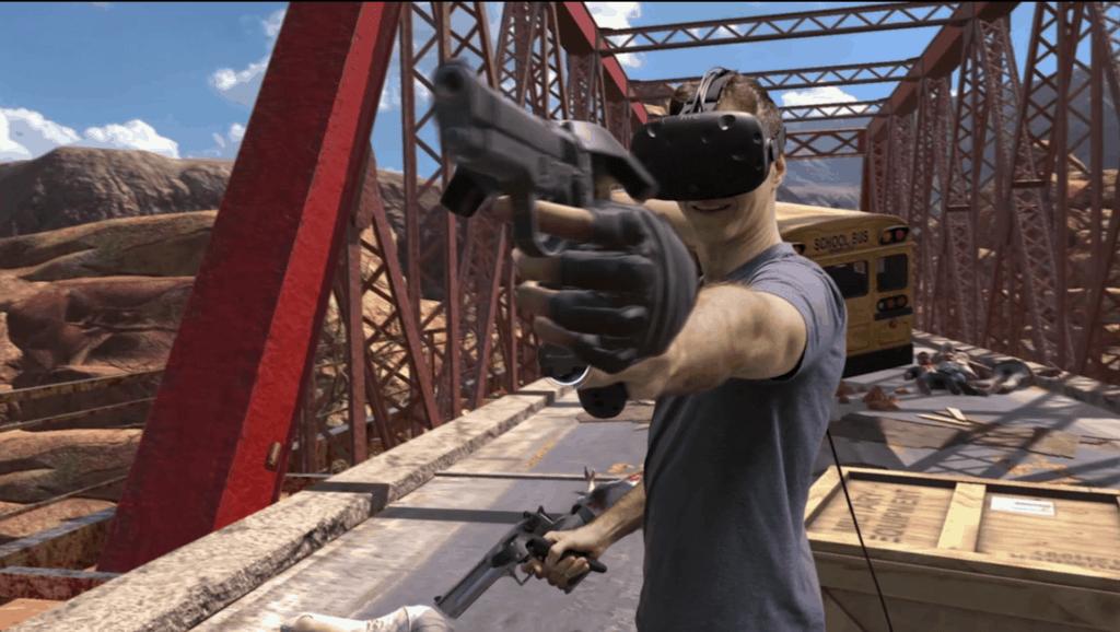 Zombie Spiel HTC Vive