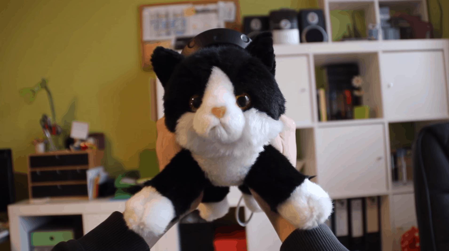 Konrad the Kitten - Plüschtiere mit der Vive zum Leben erwecken