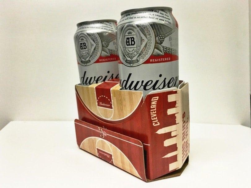 Budweiser Cardboard