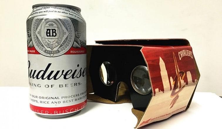 VR Brille aus Pappe