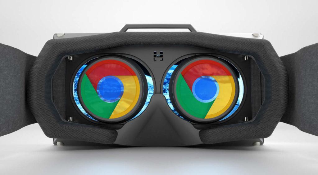 Google Chrome un Virtual Reality