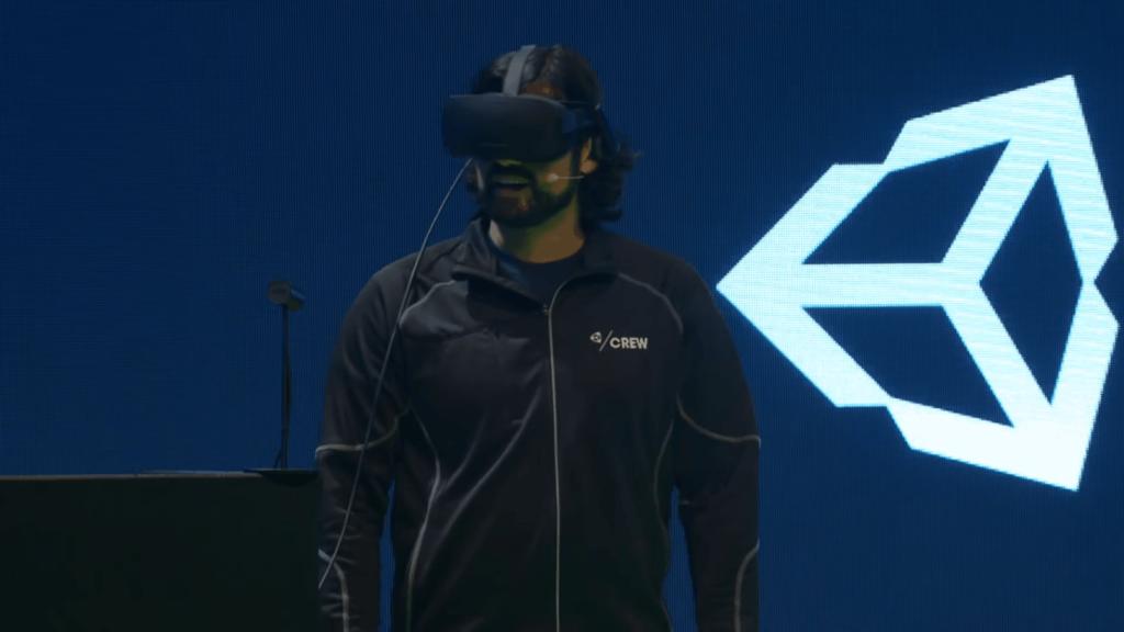 Unitys VR-Editor