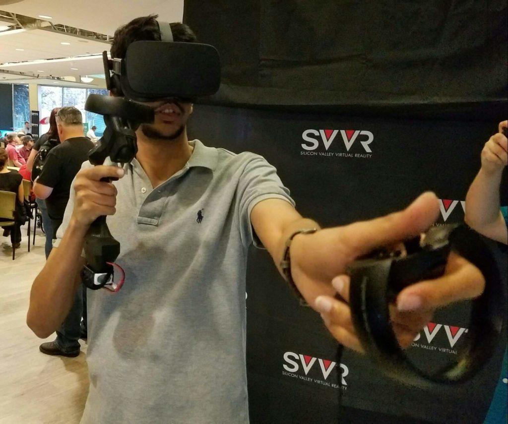 Tactical Haptics Prototyp für Oculus Touch