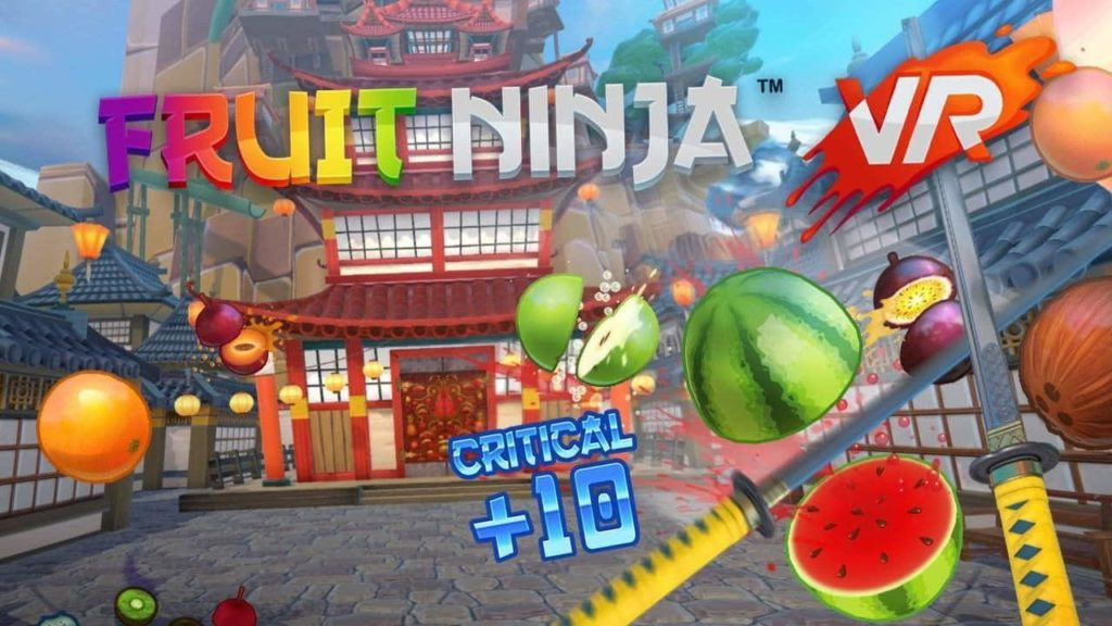 Früchte Ninja Virtual Reality