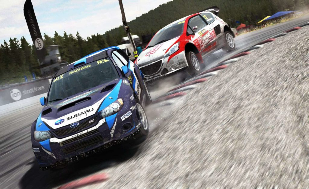 dirt rally mit der oculus rift vr nerds. Black Bedroom Furniture Sets. Home Design Ideas