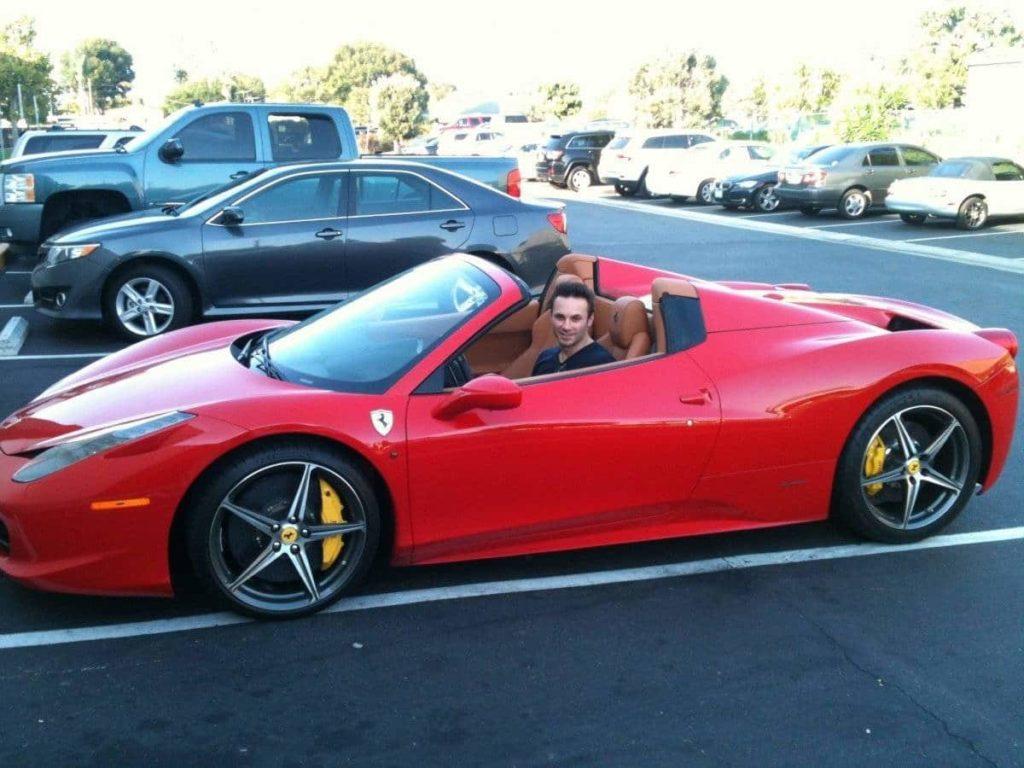 Oculus CEO in Ferrari