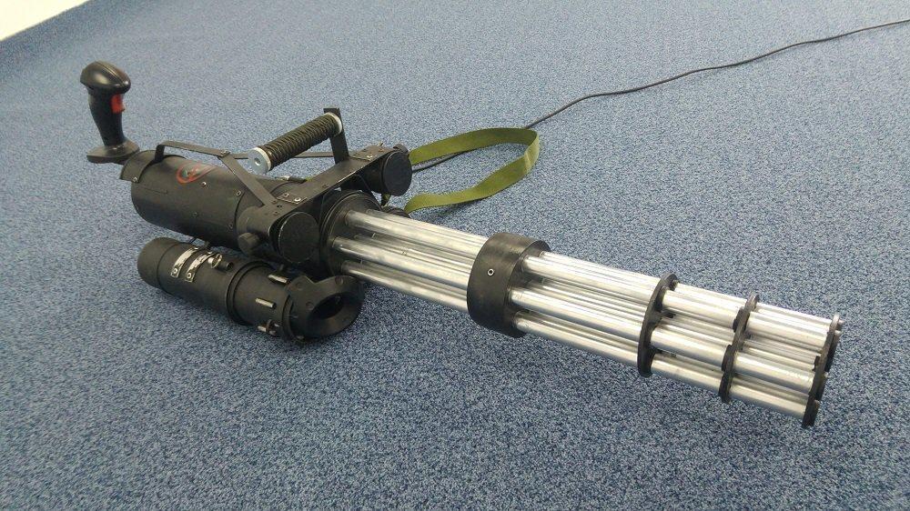 Minigun Prototyp für Serious Sam VR