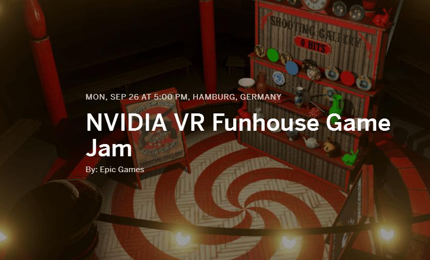 VR Funhouse Game Jam